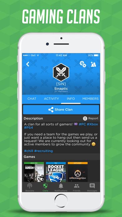 """GamerLink - LFG & Chat for Gamers!"" im App Store"