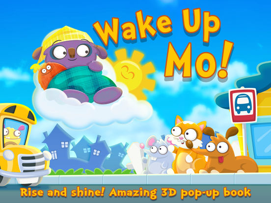 Wake Up Mo! ~ 3D Interactive Pop-Up Book Screenshots