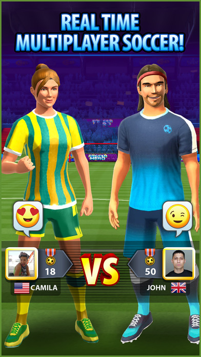 Soccer! Hero iOS Screenshots