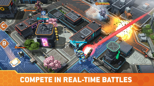 Titanfall: Assault Screenshots