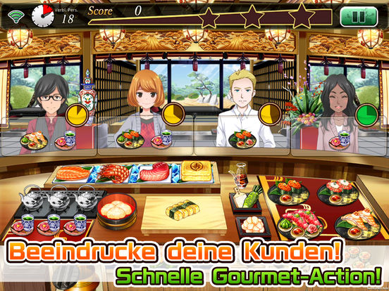 Screenshot 1 Meshi Quest  - Five-star Kitchen -