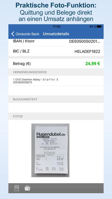 StarMoney - Finanzstatus und sicheres Banking: Überweisung, Konto, Kreditkarte bei Bank und Sparkasse Screenshot