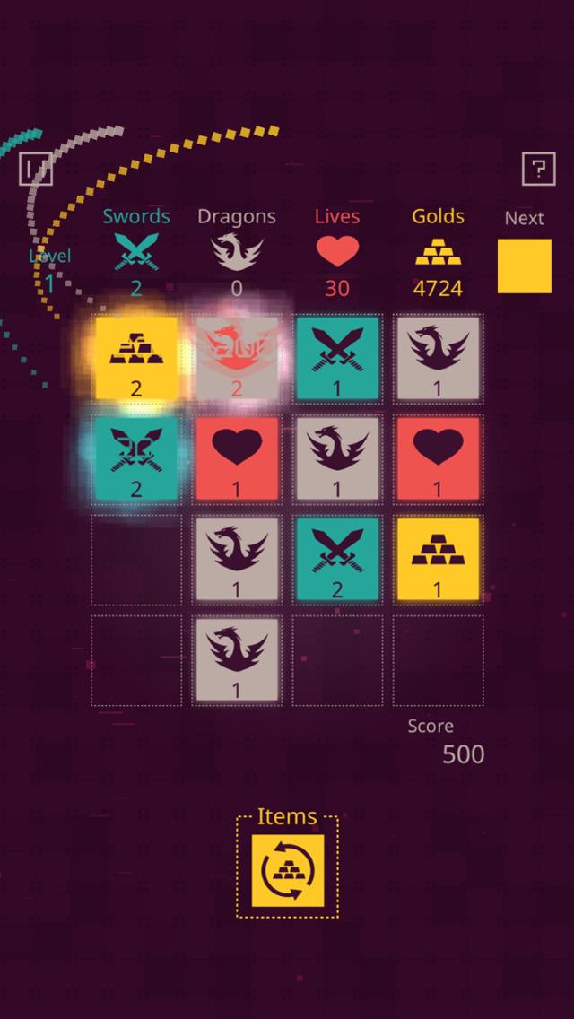 Dungeon Tiles iOS Screenshots