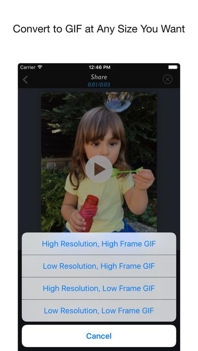 Live 2 Gif for Live Photo Screenshot