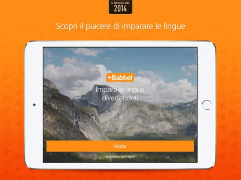 Impara l'inglese, il francese, lo spagnolo, il tedesco e tante altre lingue con Babbel Screenshot