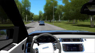 In Car Parking Miami City Racing First Person Driving Simulator Screenshot