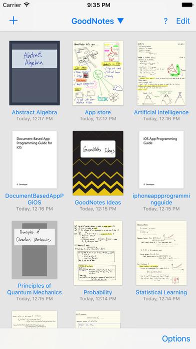 GoodNotes 4 - Notes & PDF Screenshot