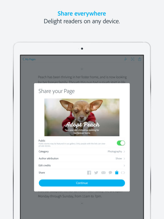 how to make a table in pages ipad