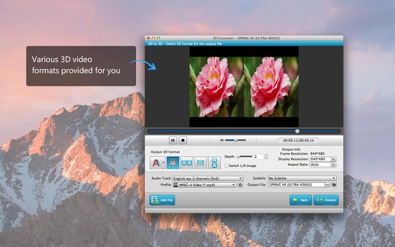 3D Converter - 2D to 3D Converter Screenshot