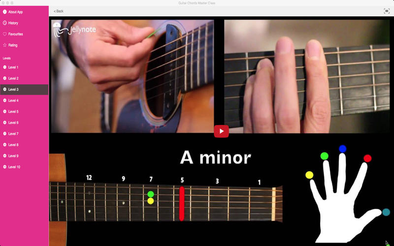 Guitar Chords Master Class - App - Download Top Rating Apps