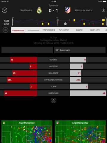 Opta betreibt die Fußball Stats Zone von FourFourTwo Screenshot