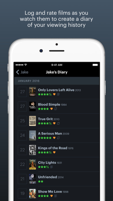 Letterboxd – The social network for film lovers Screenshot