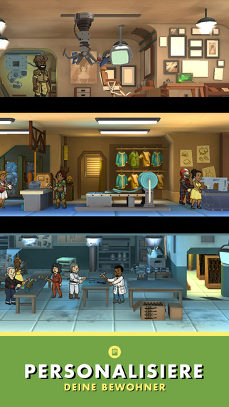 Fallout Shelter iPhone iPad