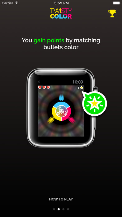 Twisty Color for Apple Watch Screenshot
