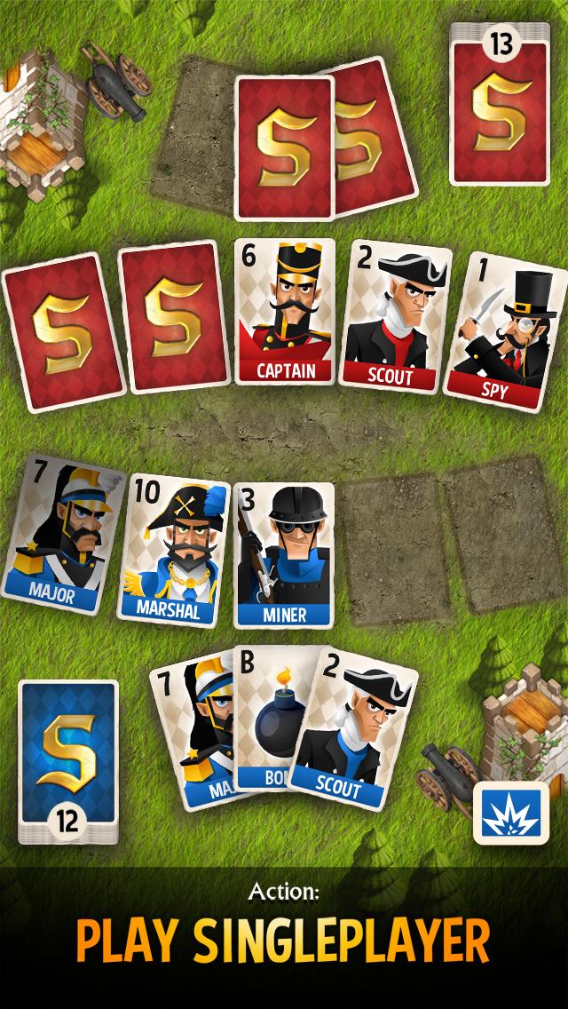Screenshot 2 Stratego® Battle Cards