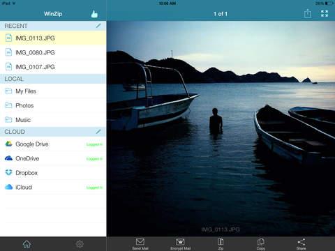 WinZip Pro - #1 Tool zum zip/unzip Screenshots
