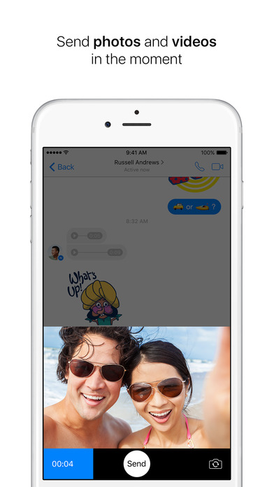 Screenshot for Messenger in United States App Store