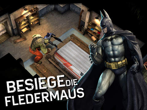 Batman: Arkham Underworld iOS Screenshots