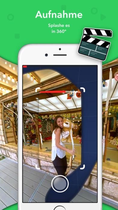 Splash - 360 Video Kamera & Virtual Reality Community Screenshot