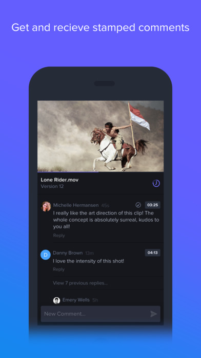 Frame.io - Video Review and Collaboration Screenshot
