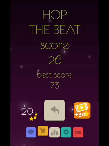 Hop The Beat iPhone iPad