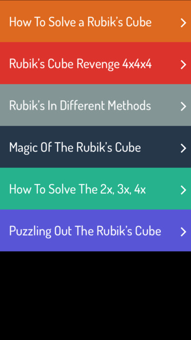 download Rubik's Cube Guide - A To Z Guide For Rubik's Cube apps 2