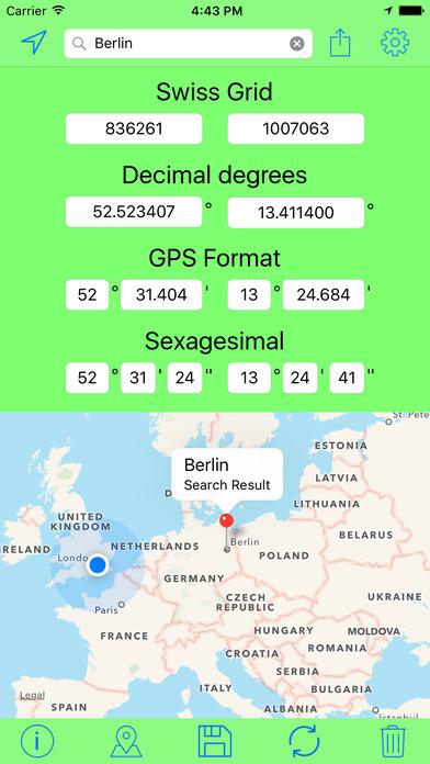 download Swiss Grid Outil Coordonnées apps 3