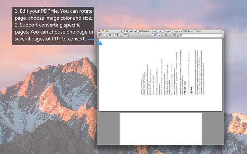PDF to Image Pro - PDF in JPG/PNG und mehr Screenshot