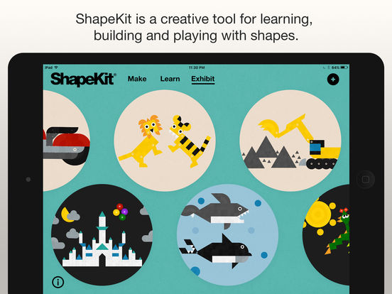 ShapeKit iPad