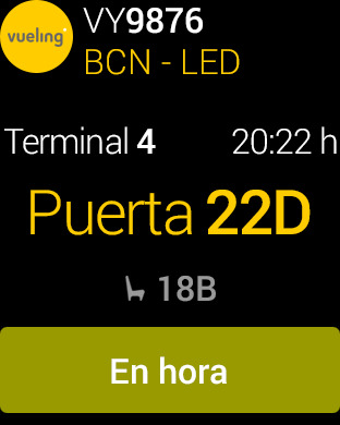 Vueling - Vuelos baratos Screenshot