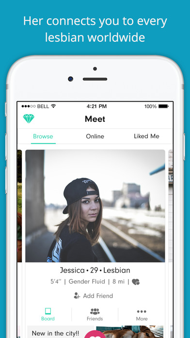 lesbian bisexual dating app Dating apps being as popular as they are nowadays — who would have is her – the go-to app for the lesbian, bisexual and queer community.