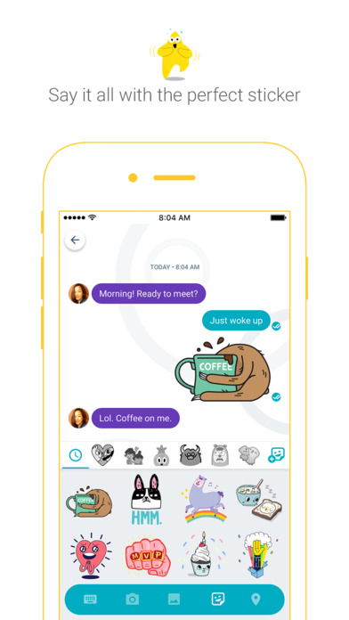 Google Allo – die clevere Messaging-App Screenshot