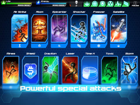 Tesla Wars - II Screenshot