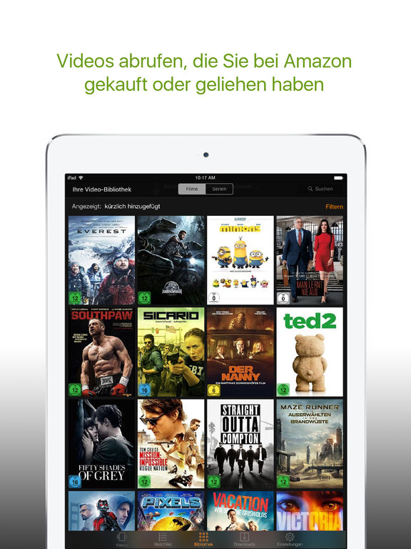 Amazon Prime Video / Deutschland Screenshot