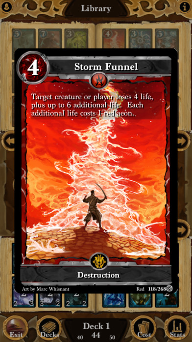Screenshot Lost Portal CCG