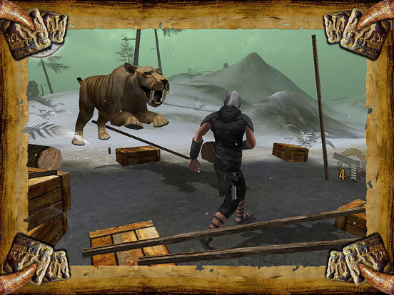 Dinosaur Assassin Pro for iPad Screenshot