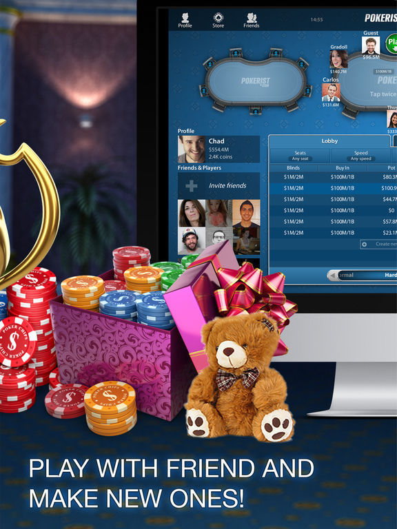 play texas holdem online with friends