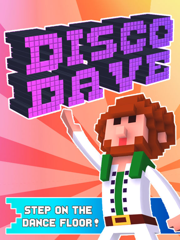 Disco Dave iOS Screenshots