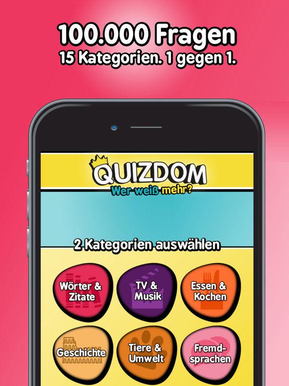 Quizdom - Wer weiß mehr? iOS