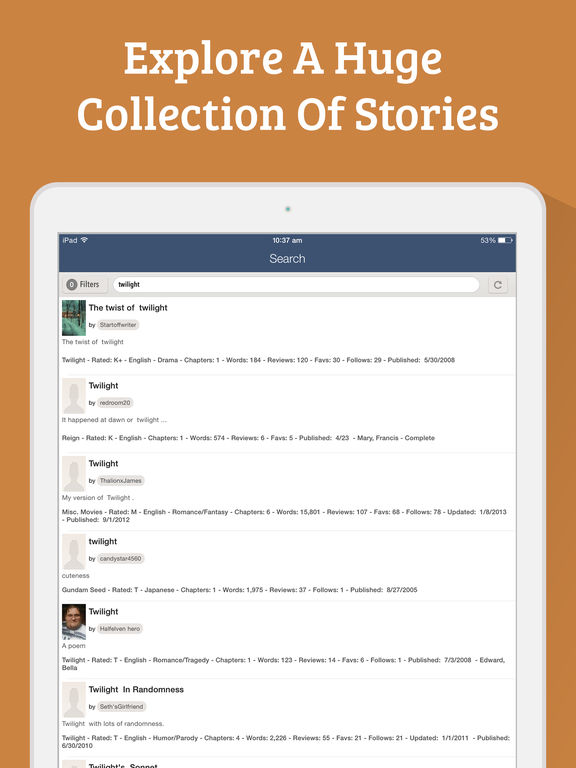 Capture d'écran iPad 5