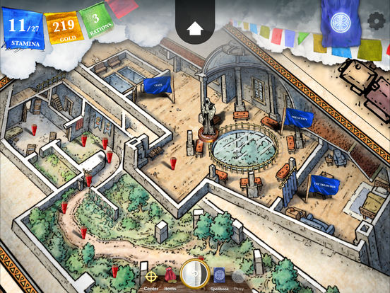 Sorcery! 4 iOS Screenshots