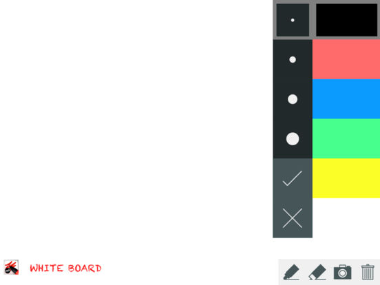 Whiteboard Screenshot
