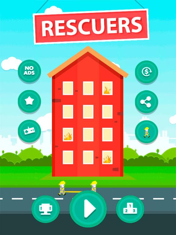Rescuers! iPad app afbeelding 1