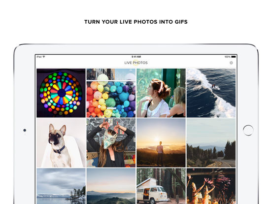 Live GIF Screenshot
