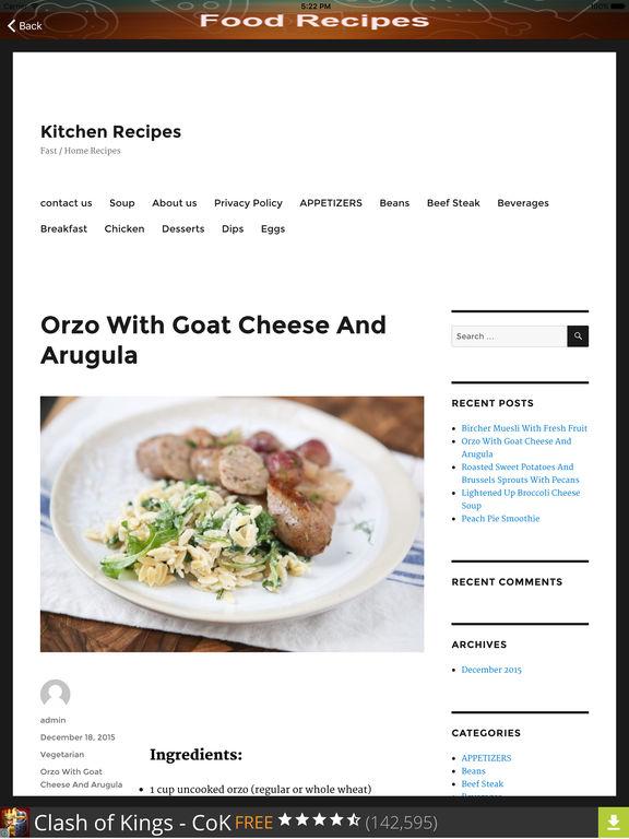 Kitchen cooking recipe menu food planner par hafiz adnan for M kitchen harbison sc menu