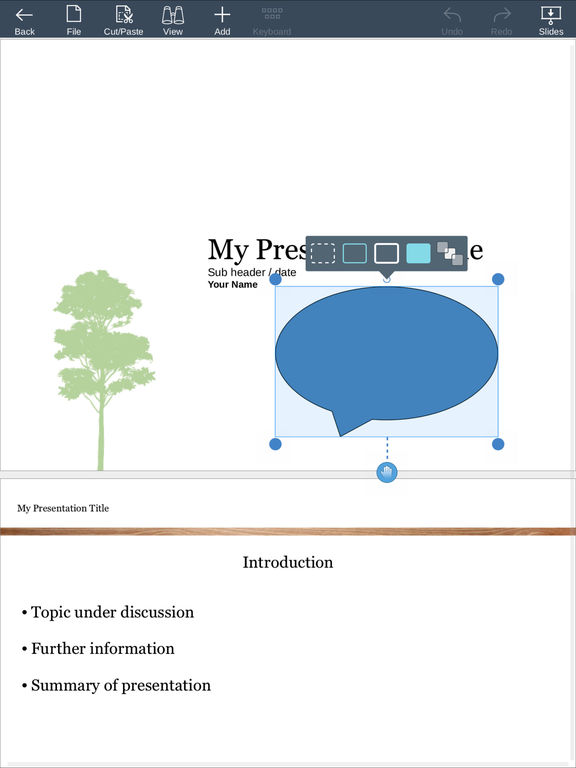 SmartOffice 2 - Viewer and editor for Microsoft Office Word, Excel and PowerPoint files + annotate PDF on mobile devices Screenshot