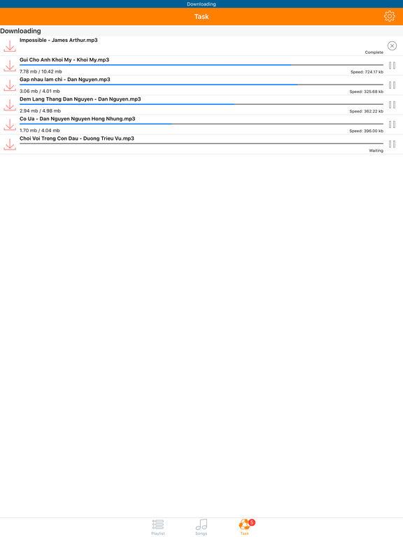MediaCloud Free Music Streaming & Video Player Screenshot