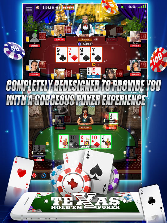 Texas holdem poker ipad