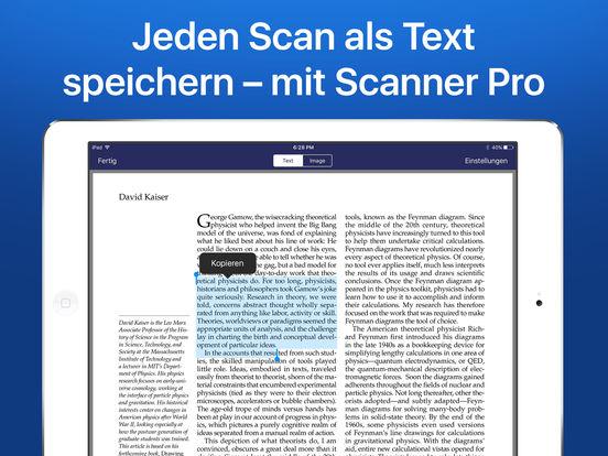 Scanner Pro 7 - OCR-fähiger Scanner für Dokumente und Rechnungen als PDF Screenshot