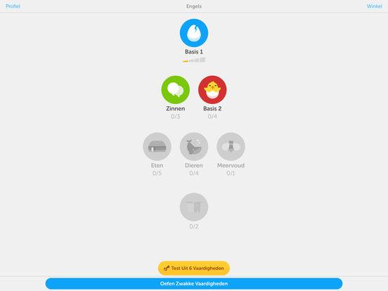 'Duolingo - Leer Engels gratis' in de App Store Rosetta Stone Engels